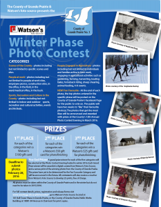 GP Winter Photo Contest