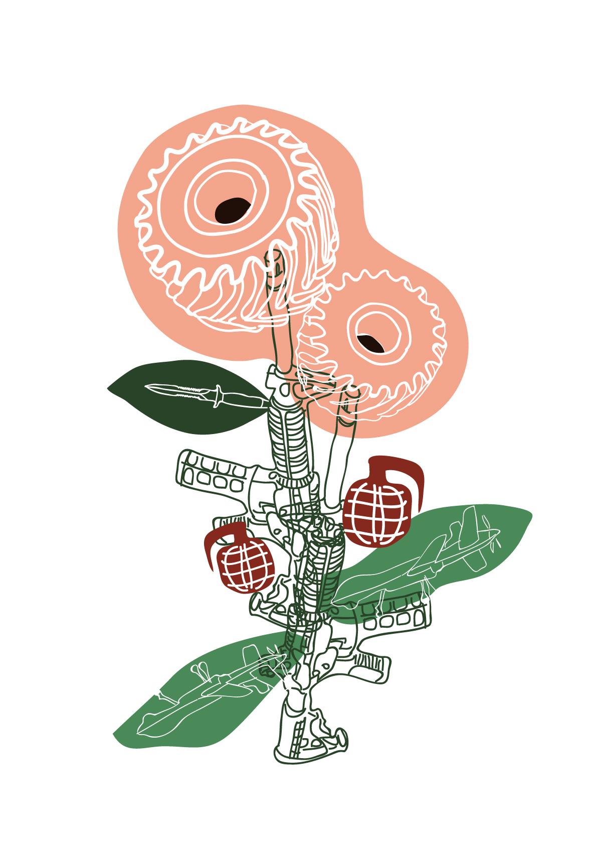 Darcy Paterson - Gun Flower